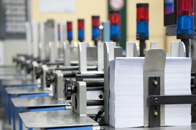 stampa e imbustamento metodi utilizzati