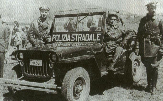 polizia stradale storia